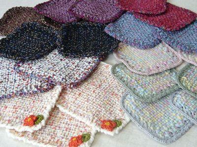 ヂャンティ織りのコースター
